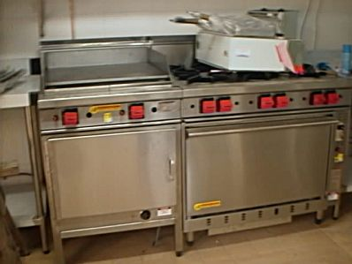 Cookon hotplate and 6 burner stove